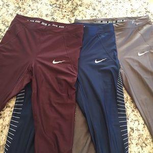 Nike Run Dri-Fit leggings bundle